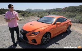 2017 Lexus RC F Test Drive Video Review