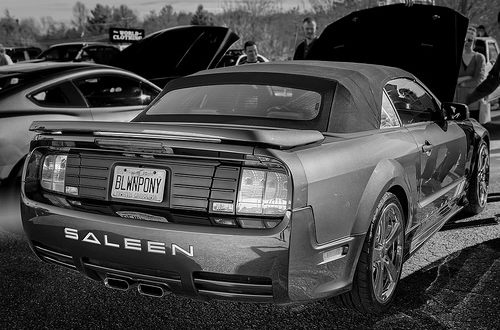 Mustang Saleen (Cars & Coffee of Hendersonville NC)
