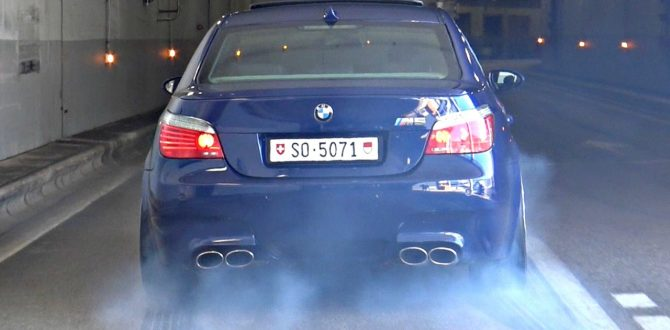 BMW M5 E60 with Eisenmann Race Exhaust INSANE Launches & Burnouts!!