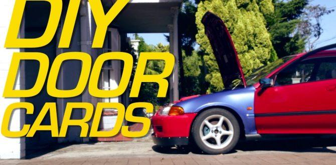 DIY RACECAR DOOR CARDS - ELMO Pt 6