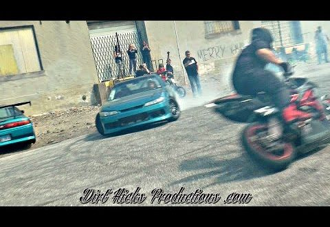 MOTORCYCLE & DRIFT CAR SESH @ SHADY JACK'S SALOON - TEAM INFAMOUS, SITDOWN STEVE + MORE!