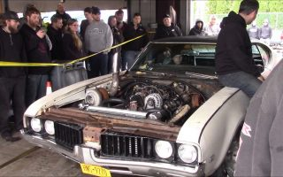 Sloppy Mechanics Spring Dyno Day 2017 - Turbo-LS Oldsmobile Cutlass