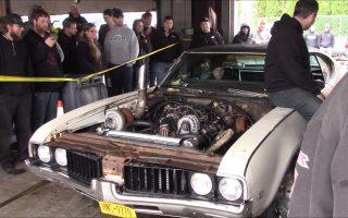 Sloppy Mechanics Spring Dyno Day 2017 - Turbo-LS Oldsmobile Cutlass