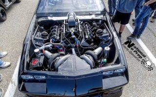 Twin Turbo Camaro is one gorgeous beast going rounds at No Prep Mayhem