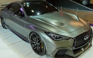 INFINIFI Q60 PROJECT BLACK S at THE POZNAŃ MOTOR SHOW 2017 [#eXhaustTUBE]