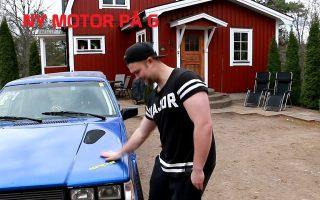 Kevins Volvo 745 500+hp Update   English Subtitles   Engine is on rebuild