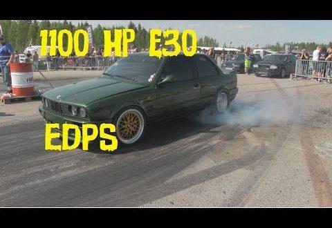 1100 Hp ! E30 Racing at EDPS 2017