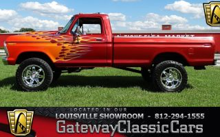 1979 Ford F150 4x4 - Louisville Showroom -  Stock # 1572