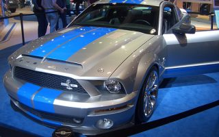 Hot, Fast, Badass, Shelby Mustang GT 500 @L