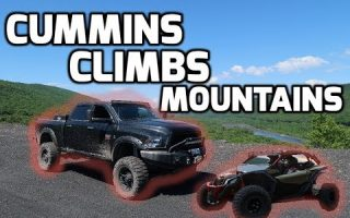 800+ HP Dodge CUMMINS  Goes ROCK Climbing!!!