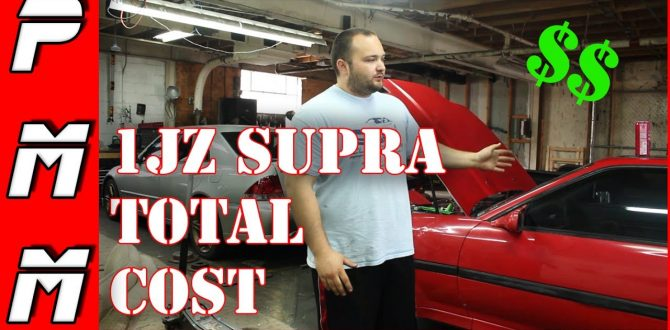 Cost To 1JZ Swap A Supra MKIII | How Much Does It Cost To