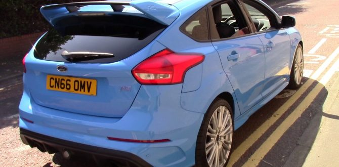 Ford Focus RS U23620