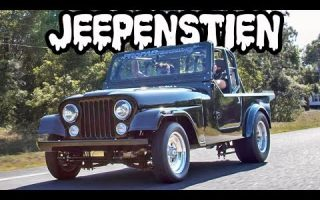 JEEPENSTIEN - 1400 Horsepower Turbo V8 Jeep!