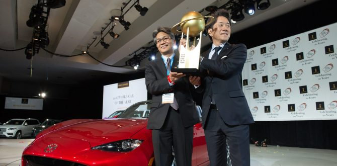 Mazda wrapped up 2016 with a trophy case of awards…a large trophy case