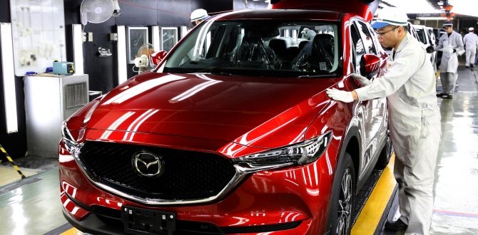 Mazda's Innovative Aqua-Tech Paint Provides Environmentally Friendly Color a Beautiful Complement to KODO Design