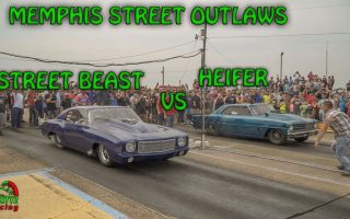 Memphis Street Outlaws Precious Cooper in Heifer Vs Doc's Street Beast 6/17/2017 (4k video)