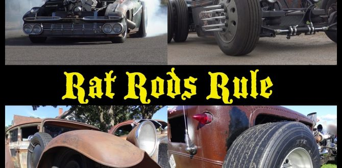 Rat Rods Rule: Cummins Turbo Diesel; Bagged; Blown 800 HP; Twin Turbo Diesel, Chopped