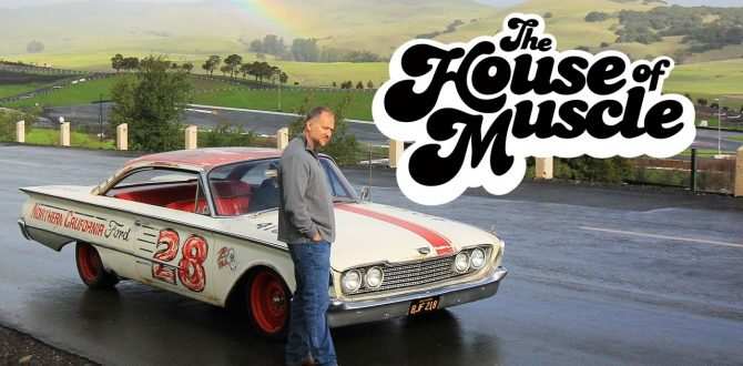 Retro NASCAR-Inspired 1960 Ford Starliner - The House Of Muscle Ep