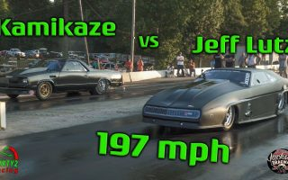 Street Outlaws Juff Lutz vs Kamikaze Chris