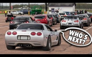 1200hp TURBO Corvette - GTR Killer!