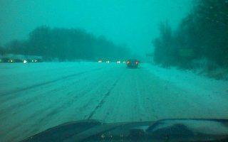Winter driving fun