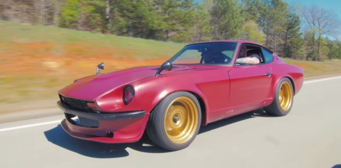 535 HP RB25 Datsun 280Z Review! - The Nissan Skyline's Crazy Brother