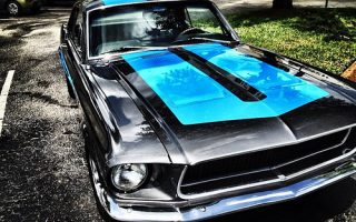 Buddy has a sick whip! #mustang #classic #car #cars #instamo