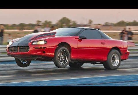 98mm Turbo Camaro with a NASTY 2-Step!