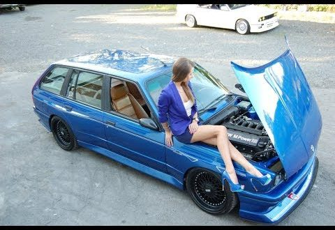 First BMW E30 M3 Touring Project