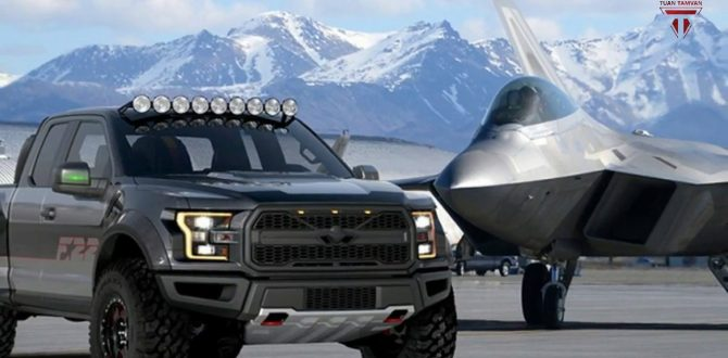 Ford found inspiration from an F-22 for their F-150 Raptor at the EAA AirVenture