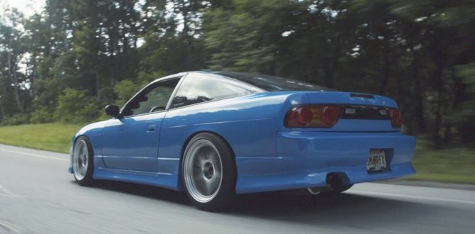 My 2JZ 240SX under extreme stress- BLUEJZ in the Mountains!