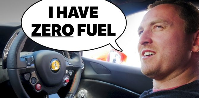Nearly Running Out Of Fuel In A Ferrari 488!