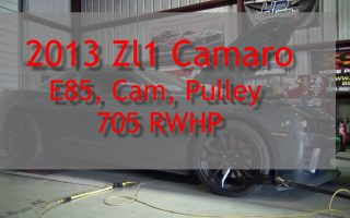 2013 ZL1 Cam and E85 Conversion