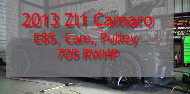 2013 ZL1 Cam and E85 Conversion