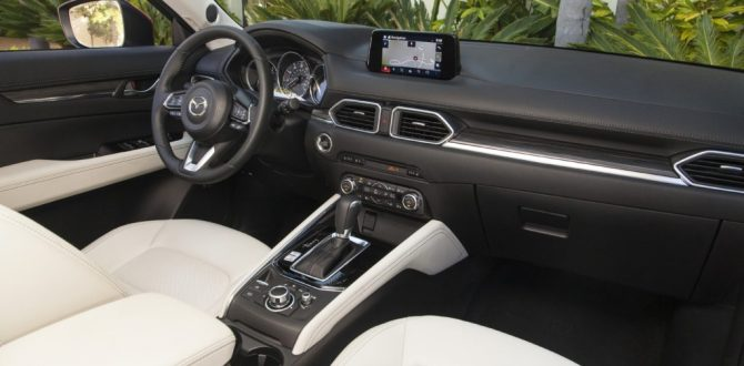 CX-5's Interior Indulges Both Heart and Soul