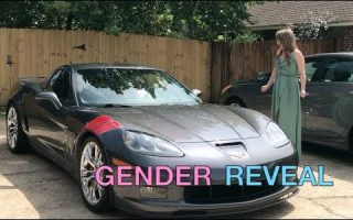 Gender Reveal Car Exhaust - BOY OR GIRL???