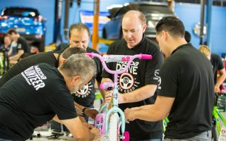 Mazda Drive for Good Builds Bikes for Foster Youth