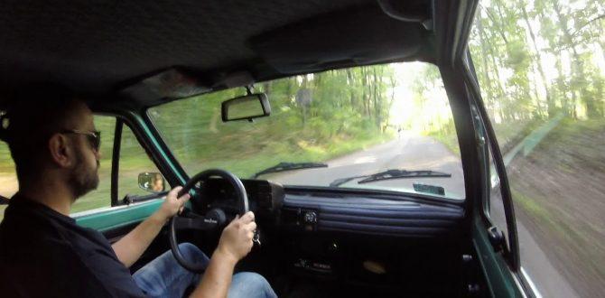 """Polski Fiat 126p FL '93 """"Gargamel"""" - jazda GoPro"""