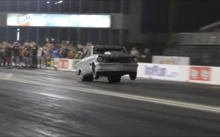 The Mistress twin turbo Nova hit at Royal Purple raceway