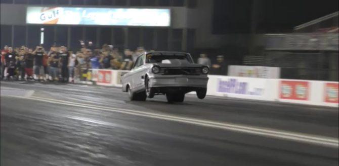 The Mistress twin turbo Nova hit at Royal Purple raceway