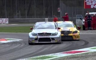 Thomas Biagi wins Superstars Race 2 at Monza