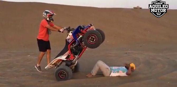 YAMAHA BANSHEE 350cc VIDEO ESPECIAL STUNT