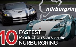 10 Fastest Cars on the Nürburgring: The Short List | Fastest Nurburgring Lap Times