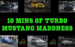 10 mins Of Turbo Mustang Madness Including Boosted Gt, Mike Murillo, Sazbo and more! 4k video