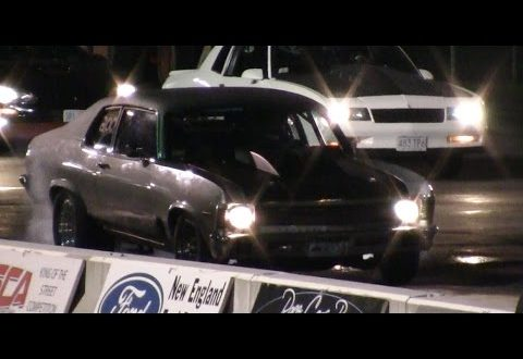 10 Second Turbo Nova gaps a subaru New England Dragway