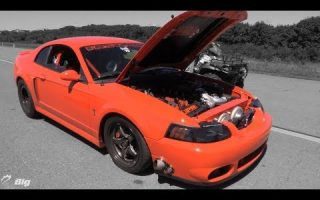 "200 mph TT Terminator Mustang - ""Stopped Turning it Up to Prevent 130mph Burnouts"""