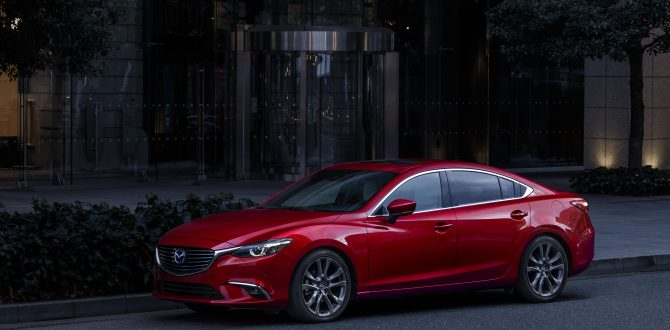 Beauty and Brains – The Mazda6 Has it All