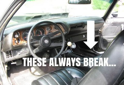 Camaro Center Console Restoration!