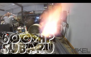 Flame Spitting Subaru STI Makes 600+hp