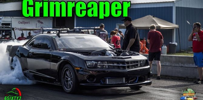Grimreaper Is One Nasty Twin Turbo 5th gen Camaro Dirty South No Prep Gulport (4k)